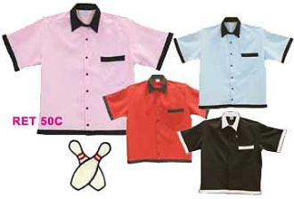 Retro 50's Bowling shirt